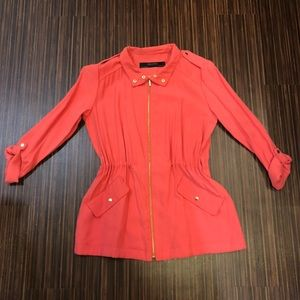 Zara drawstring jacket